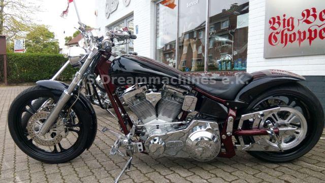American Ironhorse Slammer 250er tief breit laut Custombike,Chopper2