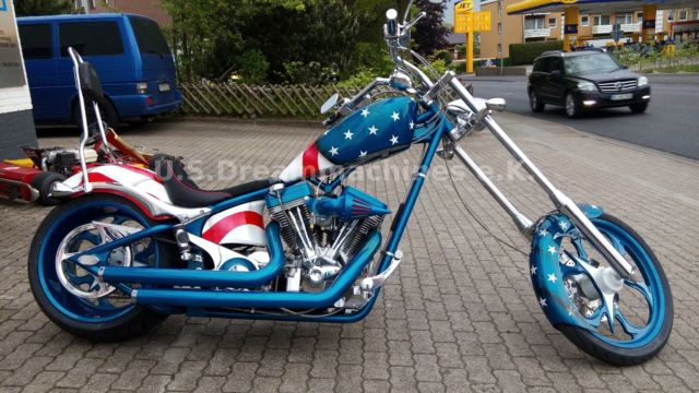 Big Dog Motorcycles K9, 300er, Softail Chopper, 130PS, 2Lit. S&S,