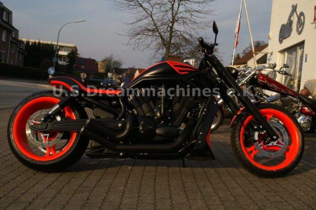Harley-Davidson V-Rod Night Rod NLC Komplettumbau 2015 auf 280