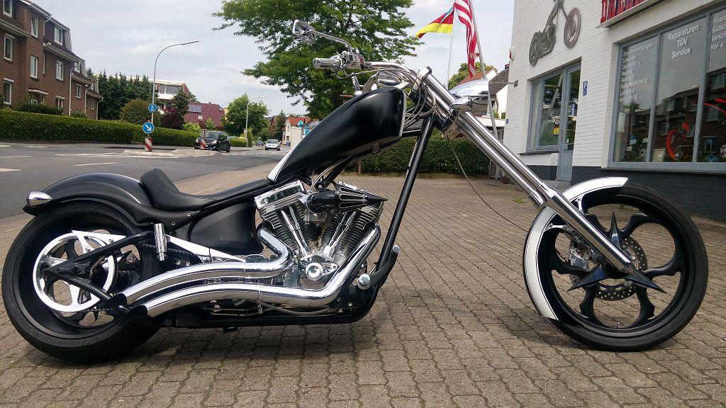 Big Dog Motorcycles K9-300, 130 PS, Chopper Highnecker Custombike
